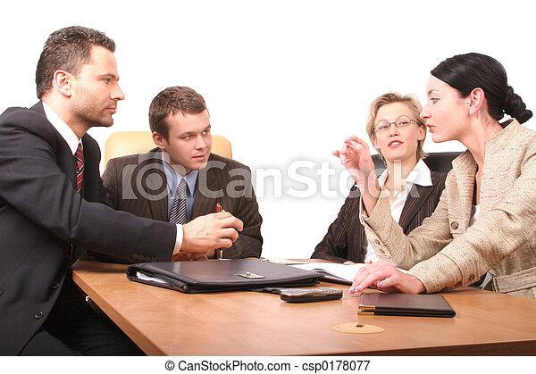 persone, riunione, 4 - csp0178077