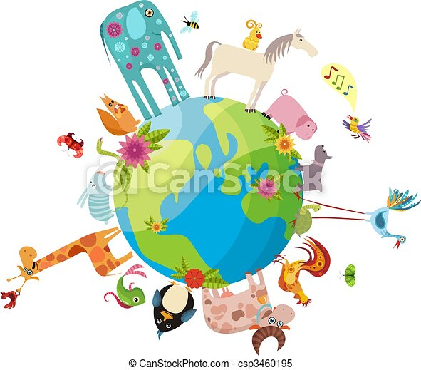 pianeta, animale - csp3460195