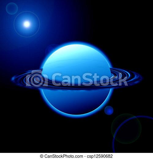 pianeta blu - csp12590682
