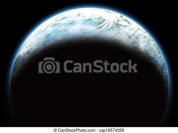 pianeta blu - csp16574358