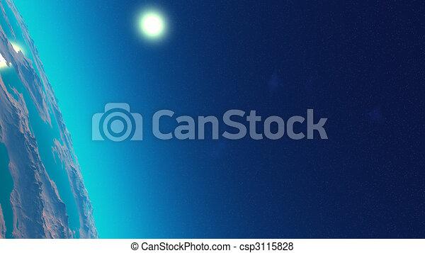pianeta blu - csp3115828