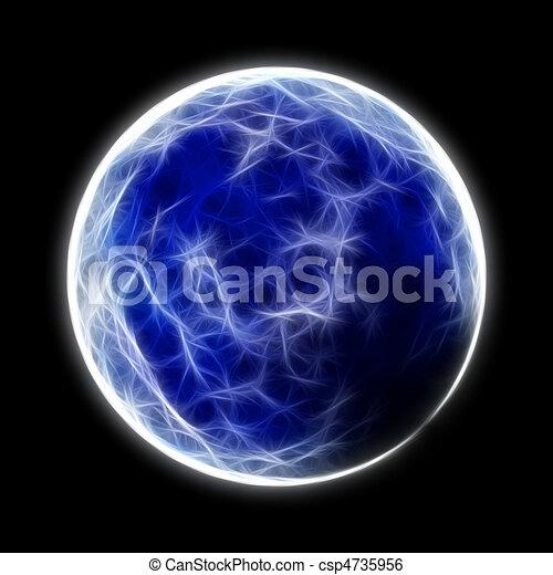 pianeta blu - csp4735956