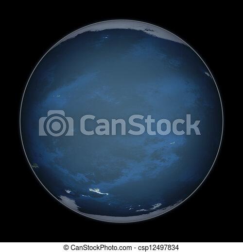 pianeta blu - csp12497834