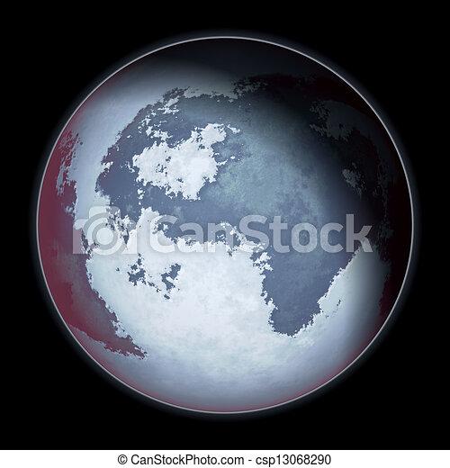 pianeta blu - csp13068290