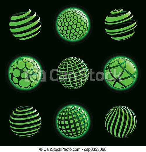 pianeta, icons., tecnologia - csp8333068