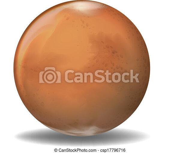 pianeta, marte - csp17796716