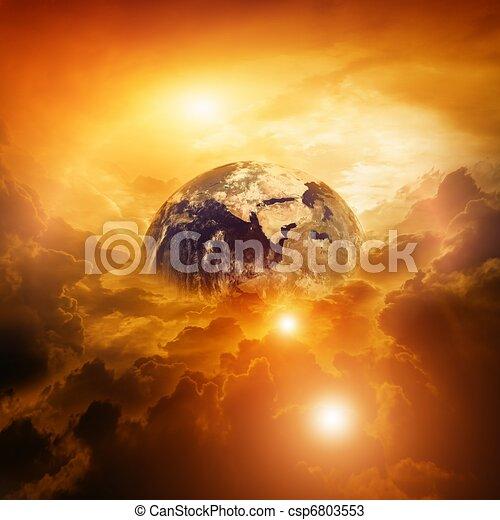 pianeta, pericolo - csp6803553