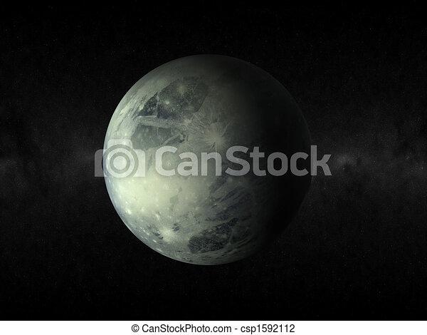 pianeta, plutone - csp1592112