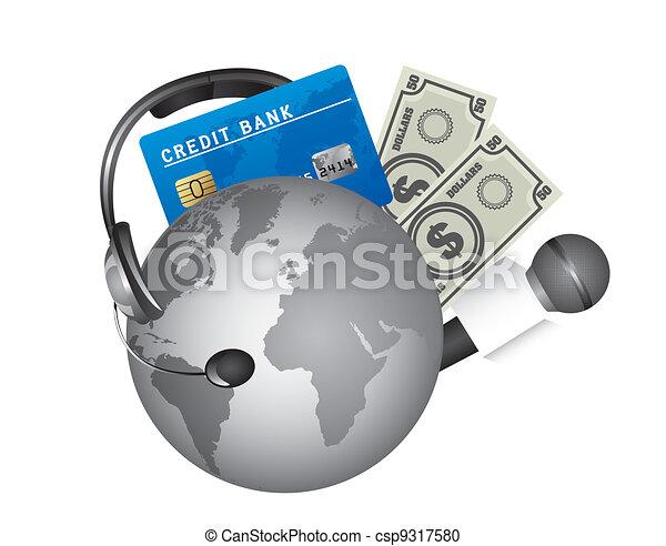 pianeta, soldi - csp9317580