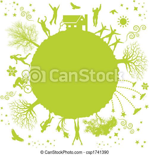 pianeta, verde - csp1741390