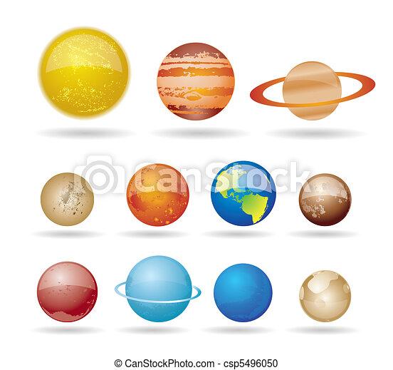 pianeti, sole - csp5496050