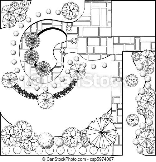 piano, paesaggio - csp5974067