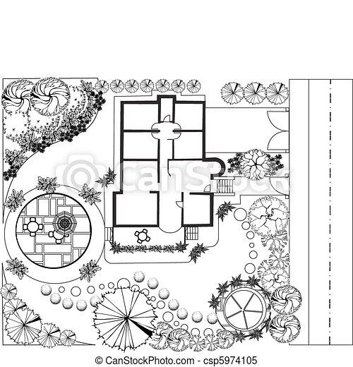 piano, paesaggio - csp5974105