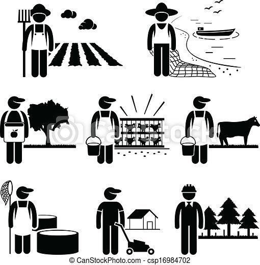 piantagione, lavoro, agricoltura, agricoltura - csp16984702