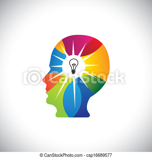 pieno, dotato, &, mente, idee, genio, persona, soluzioni - csp16689577