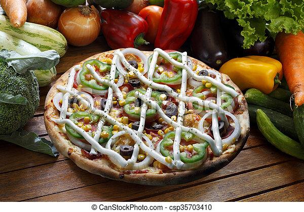 pizza - csp35703410