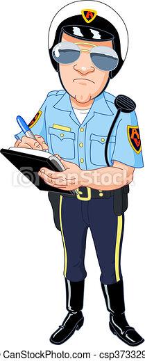 poliziotto - csp3733298