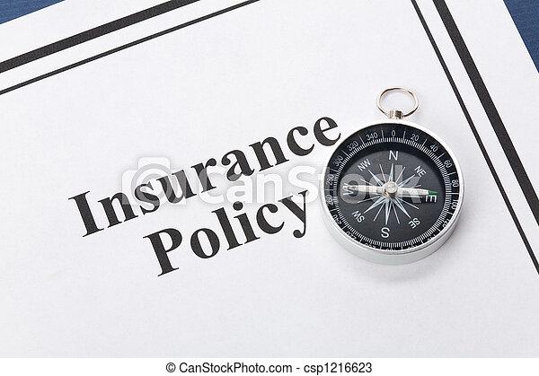 polizza assicurazione - csp1216623