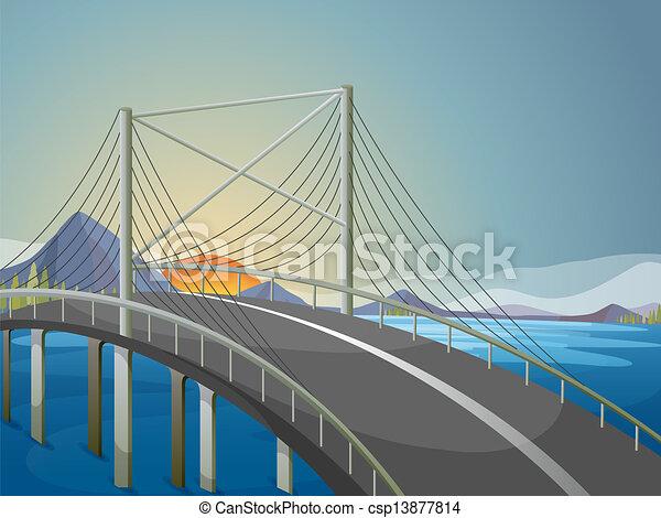 ponte, lungo - csp13877814