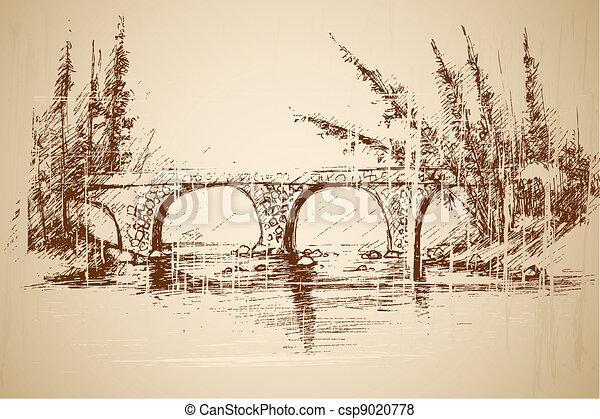 ponte piede, parco - csp9020778