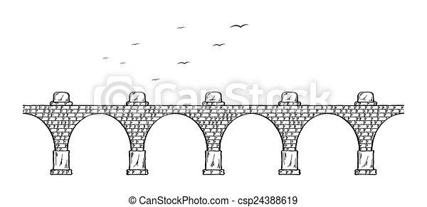 ponte, pietra - csp24388619