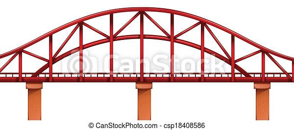 ponte, rosso - csp18408586