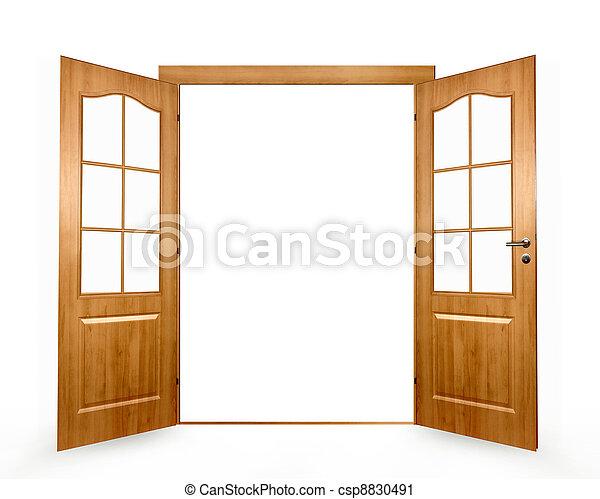 porta aperta - csp8830491