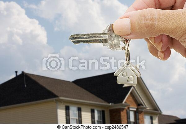 porta, sbloccando, tuo - csp2486547