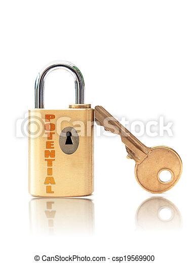 potenziale, sbloccando - csp19569900