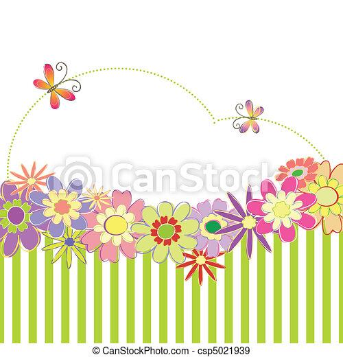 primavera, colorito, estate, floreale - csp5021939