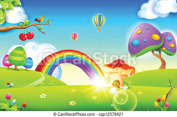 primavera, natura, stagione - csp12378421