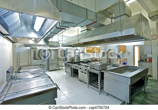 professionale, cucina - csp4705724