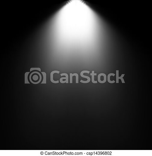 projector., luce, vettore, illustrazione, trave - csp14396802