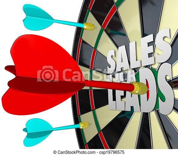 prospettive, vendita, clienti, vendite, piombi, asse, freccetta - csp19796575