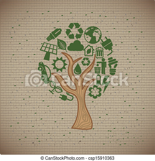 proteggere, ambiente - csp15910363