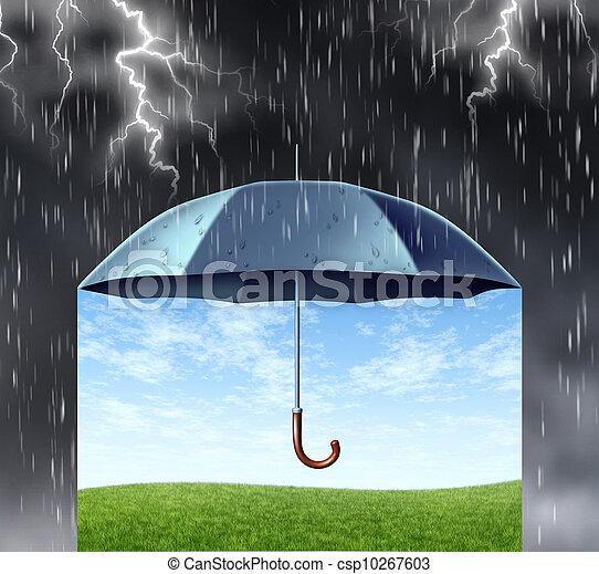 protezione, assicurazione - csp10267603