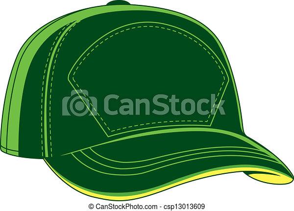 protezione baseball, verde - csp13013609