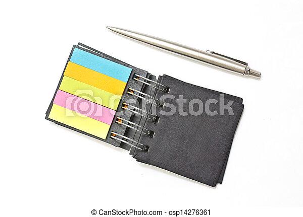quaderno, aperto - csp14276361