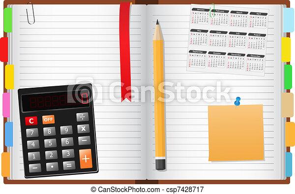 quaderno - csp7428717