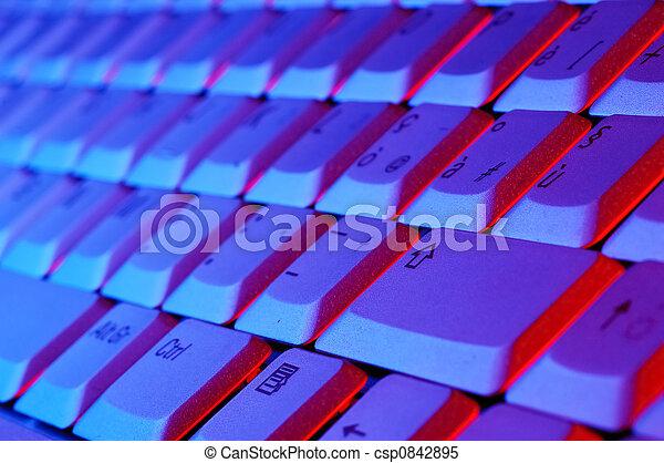 quaderno, tastiera - csp0842895