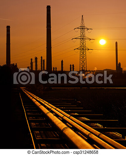 raffineria - csp31248658