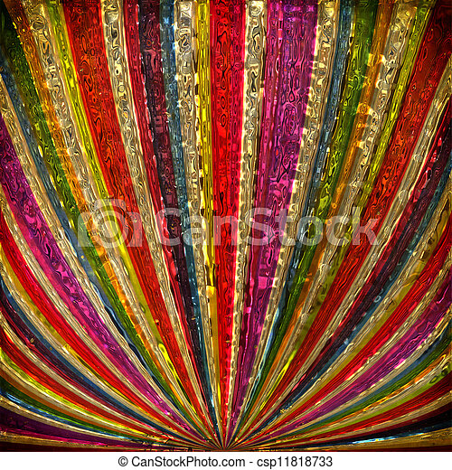 raggi sole, grudge, multicolor, fondo - csp11818733