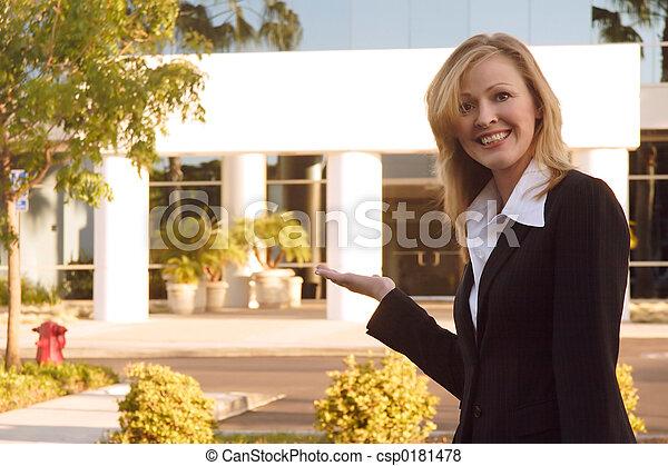 reale, costruzione, proprietà, vendite, mediatore, presentare - csp0181478
