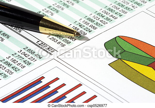 relazione, vendite - csp0526977