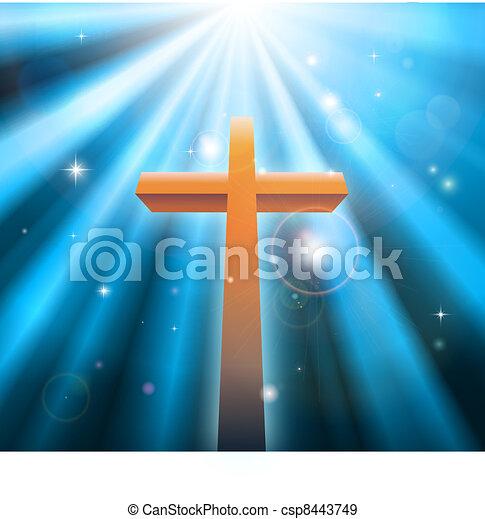 religione, cristiano, croce - csp8443749