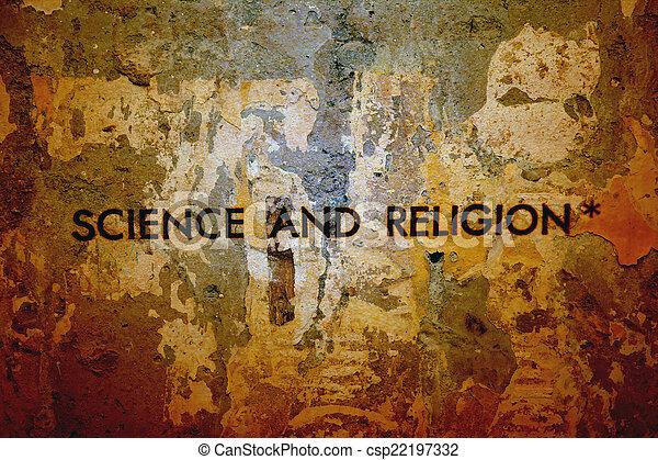 religione, scienza - csp22197332