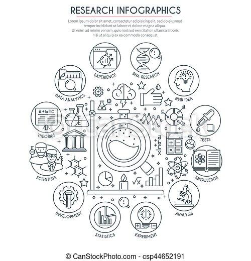 ricerca, analisi, infographics - csp44652191
