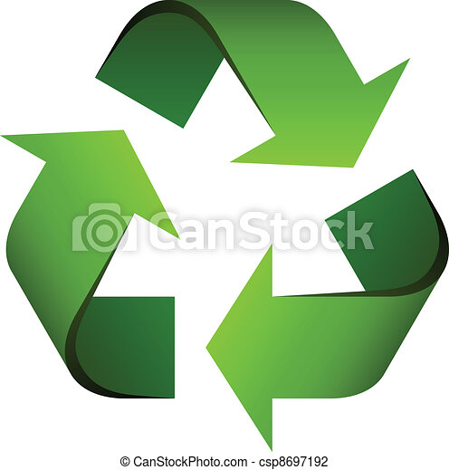 riciclare simbolo, vettore - csp8697192