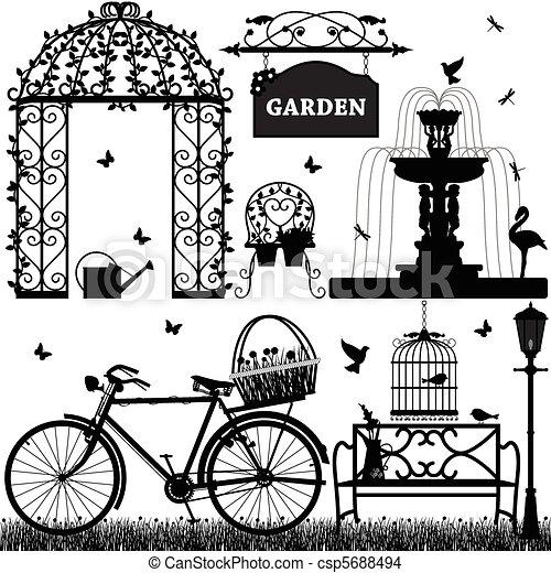 ricreativo, parco, giardino - csp5688494
