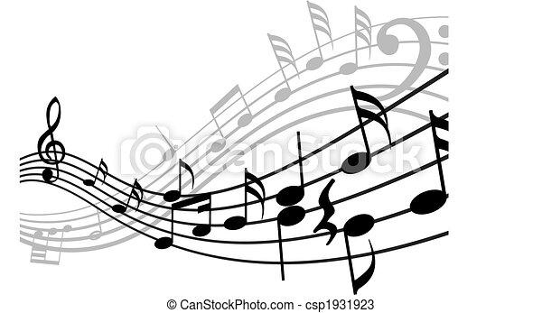 roba, musicale, fondo - csp1931923